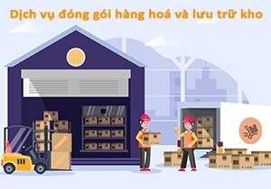 Dịch vụ đóng gói hàng hoá và lưu trữ kho